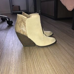 Boutique ankle booties